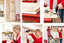 DIY doors, room dividers, mirrors, shutters / cloisons, paravents, portes, miroirs...