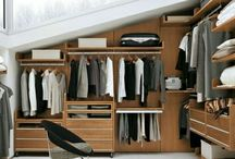 Attic storage / rangement combles