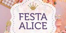 Festa Alice no país das maravilhas / Festas no tema Alice no país das Maravilhas decoradas pela Pequenos Luxos. Veja mais fotos de cada festa no nosso site! www.pequenosluxos.com
