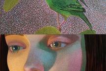 mosaicos e gravuras