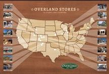 Overland Stores / Operating 16 upscale stores since 1973 and with all purchases backed by a 100% satisfaction guarantee, Overland has built an unparalleled reputation as America's most trusted source for premium sheepskin, leather & fur. / by Overland Sheepskin Co.