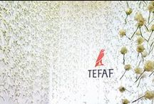 Flowers at TEFAF / The flower displays at the fair are always very popular.  Enjoy the beauty of art and the beauty of nature at TEFAF Maastricht!