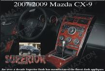 Mazda CX-9 Dash Kits / Our Available Dash Kit Options For The Mazda CX-9