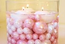 Pinks and Pearls, It's a Girl! / Pinks and pearl's themed baby shower