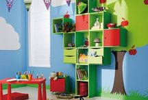 Kids ♥ Playrooms & Playspaces! / FreshKids love HAPPY PLAY SPACES!  We believe in a happy and healthy world for kids!