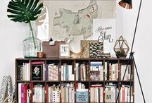 Spaces | Shelves / Inspiration to restyle and refresh our shelves