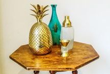 Style | Gold / We <3 gold here at Layer ~ this board features our favourite gold pieces for the home