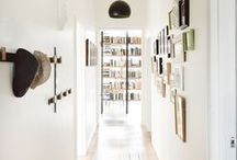 Spaces | Hallway / The hallway doesn't just have to be a through-way, make it a statement room in itself with some of these ideas.