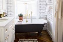 Spaces | Bathroom / Bathroom looks we <3