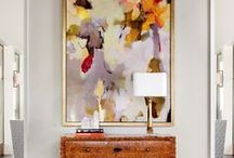 Layer | Artwork / Artwork can inspire interior styling - here are some of our favourite pieces