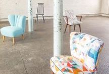 Layer | Chairs / Arm chairs, dining room chairs, outdoor chairs, midcentury chairs...basically we love all kinds of chairs!