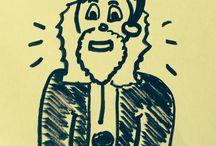 Mes petites illustrations / Mes petits dessins pour illustrer les petites anecdotes rigolotes de mon enfant - humour - souvenirs de son enfance