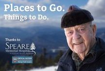 Our Patient's & Their Stories / Patients of Speare Memorial Hospital share their experiences