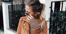 Fall Fashionista / From style tips to the best fall outfits to copy right now, this is your destination for all cute fall outfits! From plaid flannel shirts to cute ripped black jeans to suede boots, these outfits are perfect for Thanksgiving, a football game, or apple picking.