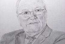 Mijn tekeningen / Sinds 1994 maak ik portretjes. Mijn grote hobby: Zie: Anoeska's portrettekeningen op Facebook