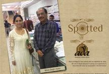 Celebrities spotted at Ada / Ada is privileged to have patrons who are inspiration for many. We wish to thank everyone for giving us an opportunity to serve them. We value our associations, now and forever.