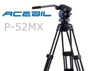 Acebil Professional - P Series Tripod Systems / Acebil's extensive line of professional - P Series tripod systems.