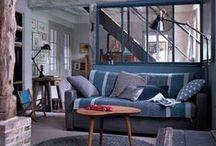 Déco salon / living room / décoration, home, salon, living room