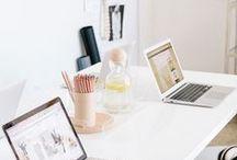 Workspace / bureau, décoration, home, workspace