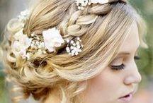 penteados de noivas / {a mesma essência} www.amesmaessencia.com