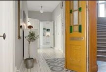 Hallway Scandinavian interior design / Inspiration for Scandinavian interior design mostly from Swedish real estate websites