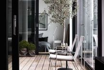 outdoor spaces Scandinavian exterior design ideas / Inspiration for Scandinavian interior design mostly from Swedish real estate websites