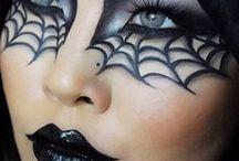 Halloween Make-up / Gruselfaktor garantiert! Hier kommen die schaurigsten Beauty-Inspirationen für die Nacht der Geister und Monster.