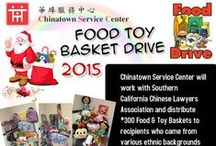 2015 Food & Toy Basket Drive 2015 @ 12/19 / The 2015 holiday season is quickly approaching. CSC will be having its 28th Annual Food Basket Distribution Event on Saturday, December 19, 2015. The food baskets have been generously donated to deserving families by the Southern California Chinese Lawyers Association. Reservation is need for Food Basket Pickup!