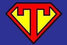 Superhero Teacher / We believe teachers are superheroes and here's all the tips, tricks and swag you'll need to become one!   super hero | superhero | teacher