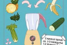 Smoothie-Rezepte // Gesunde Drinks / Liebt ihr Smoothies auch so sehr wie wir? Hier findet ihr Smoothie-Rezepte von klassisch bis ausgefallene und gesunde Drinks!