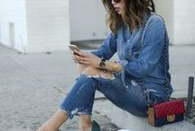 Jeans kombinieren // Outfit-Ideen mit Jeans / Liebt ihr Jeans auch so sehr wie wir? Hier findet ihr Tipps, wie ihr Jeans kombinieren könnt und jede Menge Outfit-Ideen mit Skinny Jeans, Boyfriend & Co.