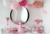 Party table ideas // buffet, candy, dessert bar ect.