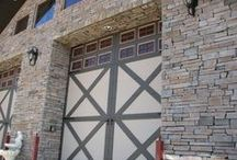 Pretty Exteriors / Inspiration for your home's exterior. Veneers, building, natural and manufactured stone.