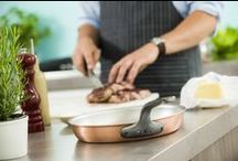 Copper Frying Pans / Falk Culinair professional-grade, handcrafted copper frying pans from Belgium.
