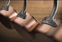 Copper Saucepans / Falk Culinair Professional-Grade, handcrafted copper saucepans from Belgium