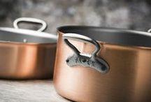 Copper Dutch Ovens / Falk Culinair professional-grade, handcrafted copper dutch ovens from Belgium.