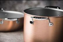 Copper Stock Pots / Falk Culinair professional-grade, handcrafted copper stock pots from Belgium.