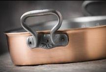 Copper Roasting Pans / Falk Culinair professional-grade, handcrafted copper roasting pans from Belgium.