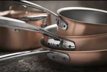 Copper Cookware Sets / Falk Culinair professional-grade, handcrafted copper cookware sets from Belgium.