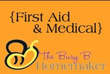 First Aid & Medical / First Aid tutorials and medical skills that are both relevant NOW and that may be necessary in emergent situations.