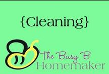 Cleaning / DIY cleaners, cleaning tips, how-to's and more!