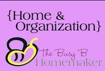 Home & Organization / Organizing solutions and tips for a better managed, stress-free home life
