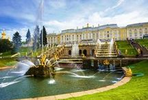 """Peterhof Palace and Garden / The Grand Cascade and Samson Fountain, The Lower Gardens and The Grand Palace this is all about stunning """"Russian Versailles"""""""
