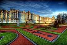 Imperial Tsarskoye Selo (Pushkin)  / Beautiful royal country residence in the time of  Peter the Great and the future Empress Catherine I