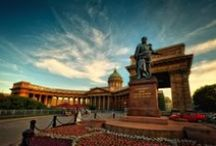 Main attractions in St.Petersburg / There is nothing better than a sunny St. Petersburg