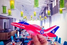 Hotel Opening - Red Plane's Journey / 3,2,1 and take off. We are opening Park Inn by Radisson Pulkovo Airport