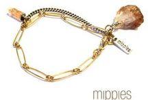MIPPIES|Jewelry / Fashion Jewelry hand designed & handmade in Holland bij designer and owner Mip van de pol. www.mippies.com
