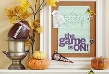 Football: Game Day! / Decorating ideas and creative recipes to entertain family and friends.