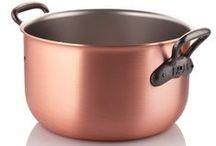 Copper Pots Au Feu / Hand-Crafted Copper Pots Au Feu
