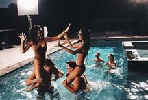 Parties || Activities / Those who don't jump will never fly.